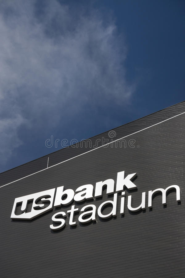 U S Bank-Stadion lizenzfreie stockbilder
