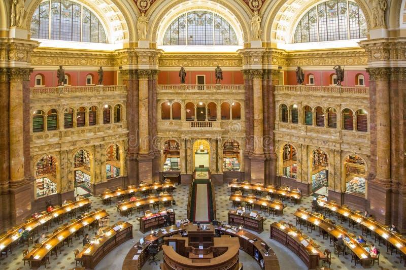 U S Bibliotheek van Congres stock foto