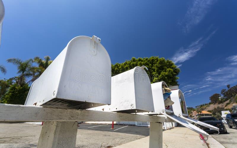 U S Boîte aux lettres, Malibu, la Californie, Etats-Unis d'Amérique, Amérique du Nord photos stock