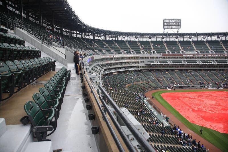 U.S. Campo celular - Chicago White Sox fotografia de stock royalty free