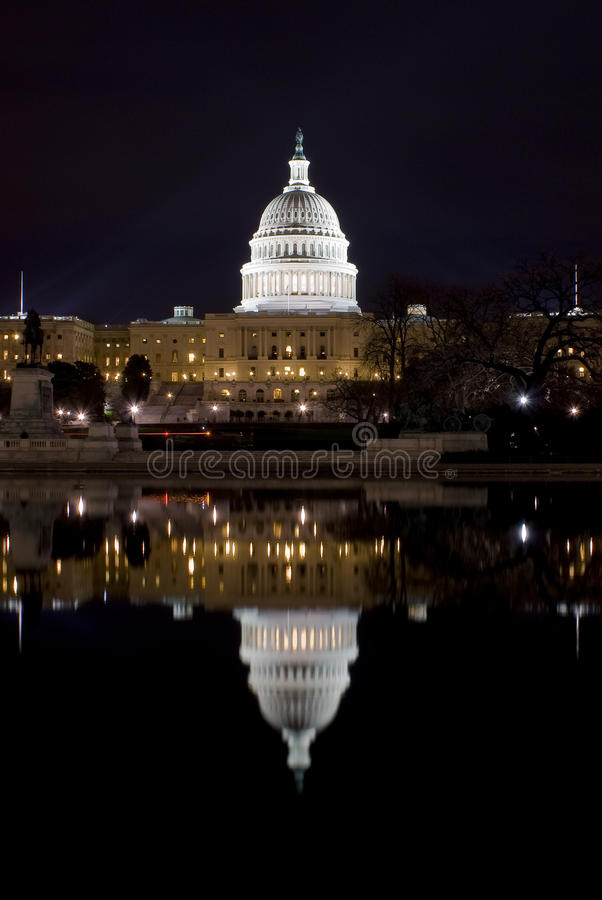 U.S.Capitol Royalty Free Stock Photography