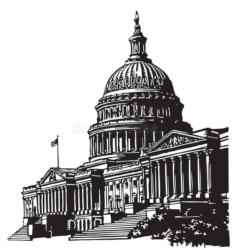 U. S. capitol stock photo