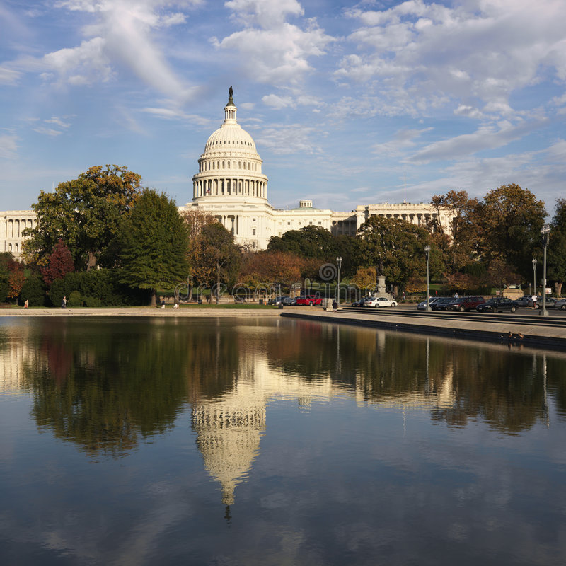 U.S. Capitol Building stock photography