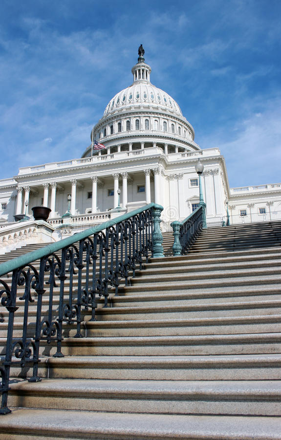 The U.S. Capitol Building royalty free stock photo