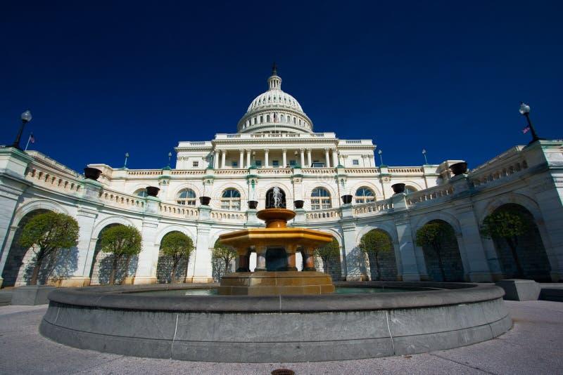 U.S. Capitol on a sunny spring stock photos
