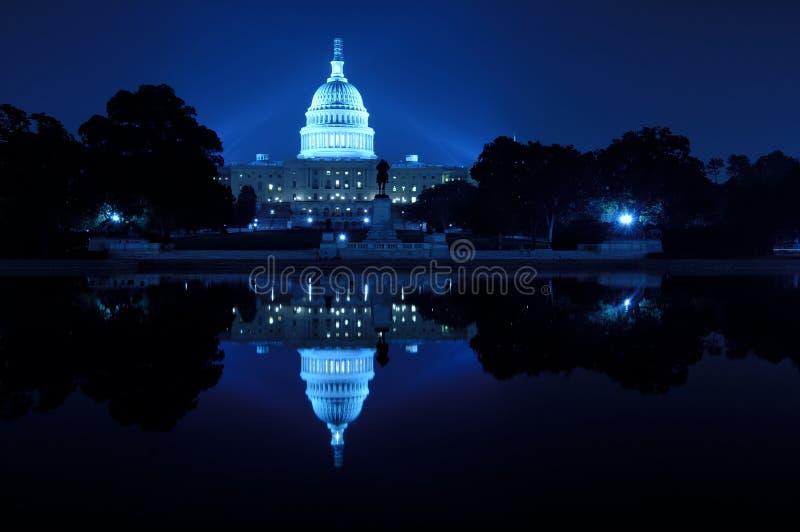 U.S. Capitool royalty-vrije stock afbeeldingen