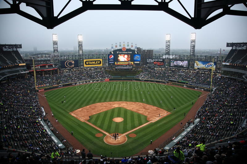 U.S. Cellular Field - Chicago White Sox royalty free stock image