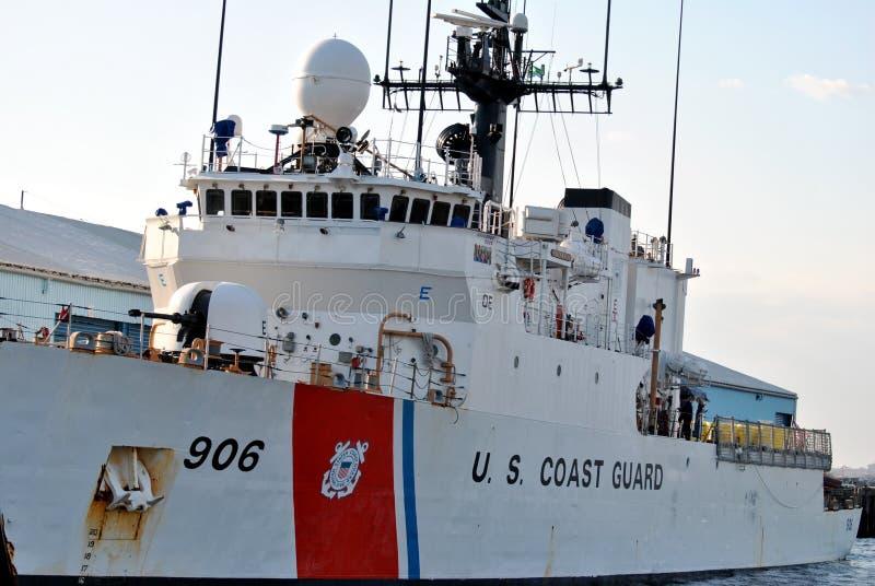 U.S. Coast Guard Cutter stock photography