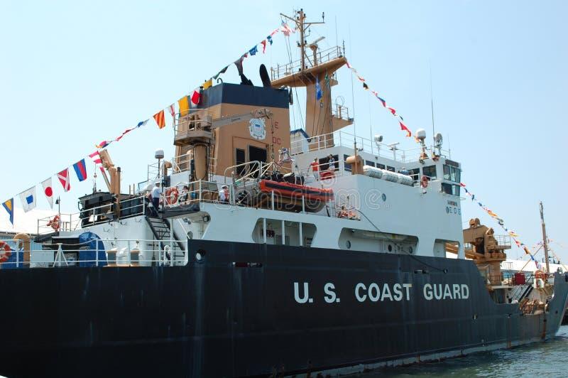 U.S. Coast Guard Ship stock photography