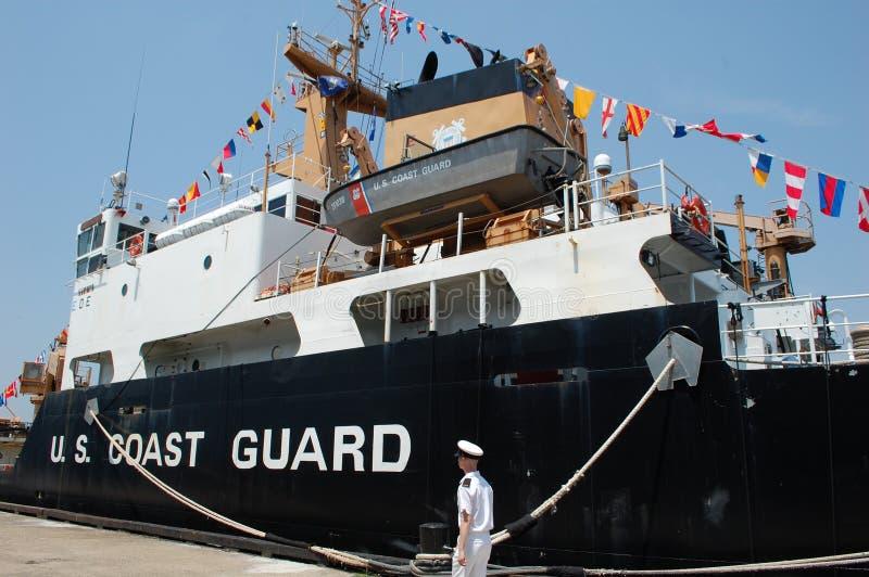 U.S. Coast Guard Ship stock images