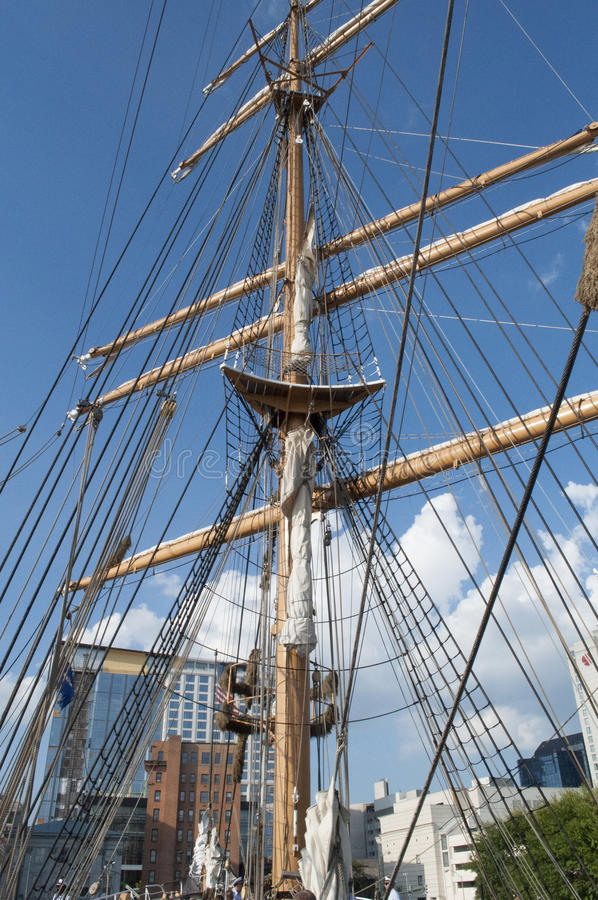 Free U.S. Coast Guard Tall Ship, The Eagle Royalty Free Stock Images - 78253759