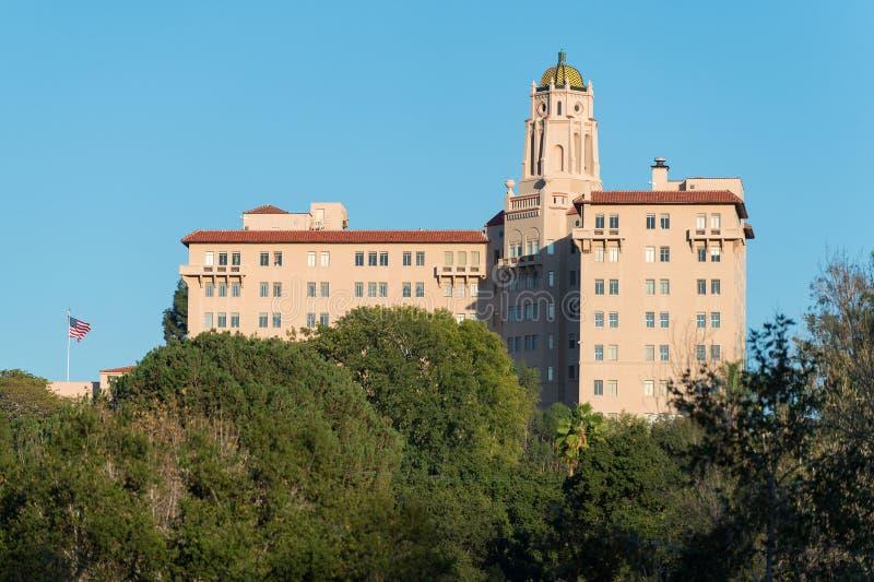 U S Corte d'Appello che costruiscono a Pasadena, California fotografie stock libere da diritti