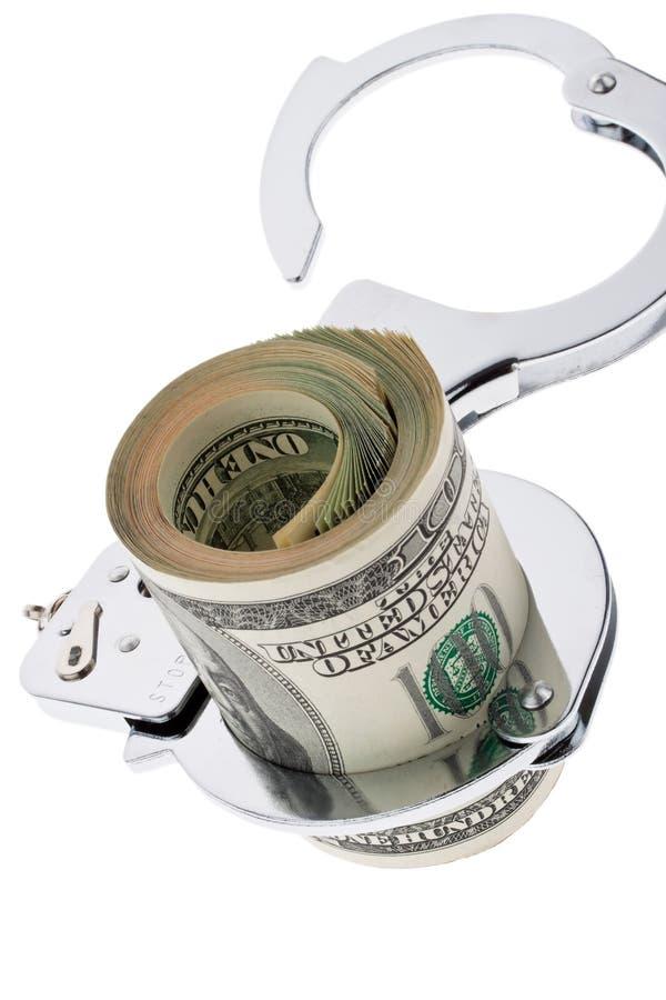 U.S. dólares das notas de banco foto de stock