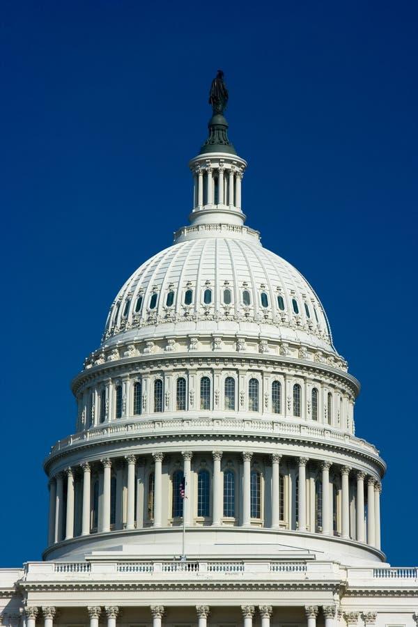 U.S. Dôme de construction de capitol images libres de droits