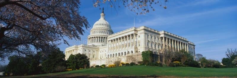 U.S. De Bouw van het Capitool stock afbeeldingen