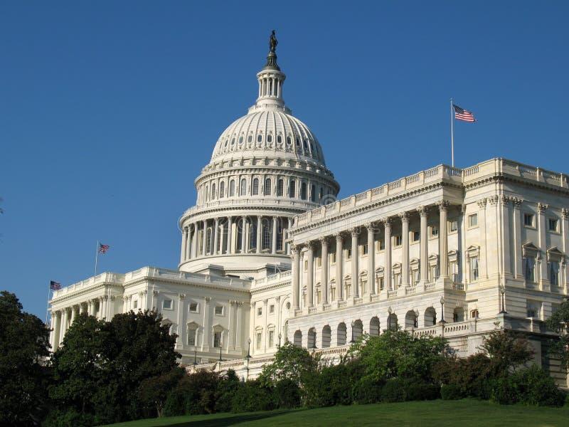 U.S. De Bouw van het Capitool royalty-vrije stock afbeeldingen