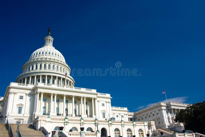 U.S. De bouwkoepel van het Capitool royalty-vrije stock afbeelding