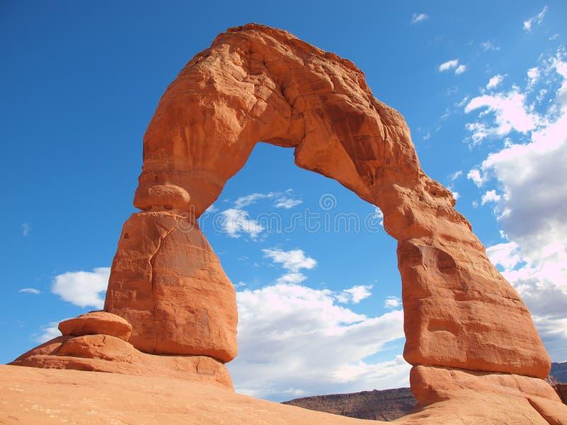 U.S.A. De nationale Bogen van Utah van het Park stock foto