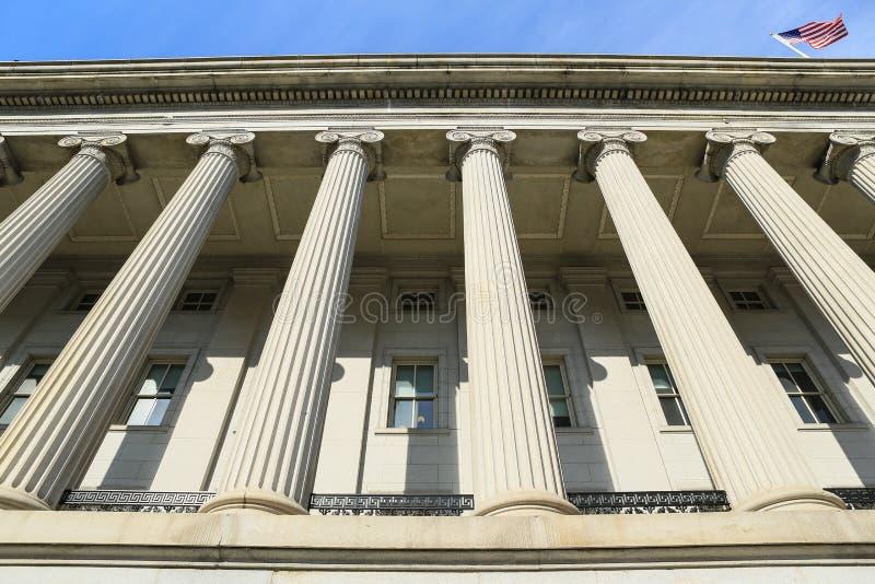 U.S. Departamento da Tesouraria foto de stock royalty free