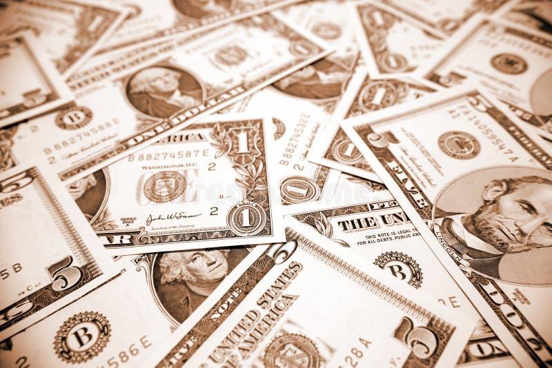 U.S. dinheiro imagem de stock royalty free