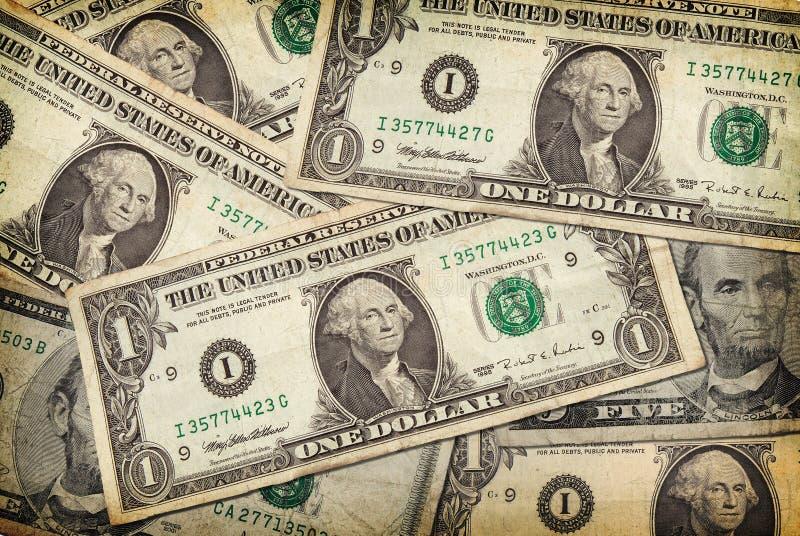 U.S. dinheiro de papel foto de stock