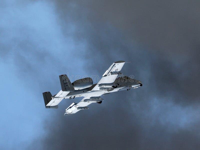 U.S.A.F.A-10 Thunderbolt II Warthog lizenzfreie stockfotografie