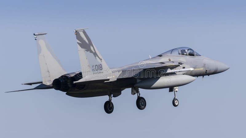 U.S.A.F.F-15C Eagle fotografie stock libere da diritti