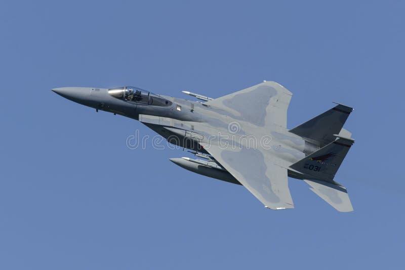 U.S.A.F.F-15 Eagle fotografia stock