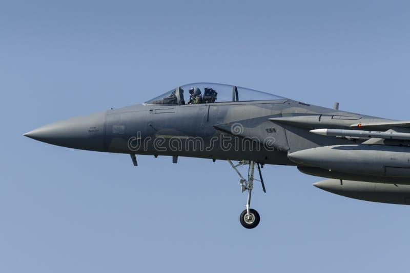 U.S.A.F.F-15 Eagle stockfoto