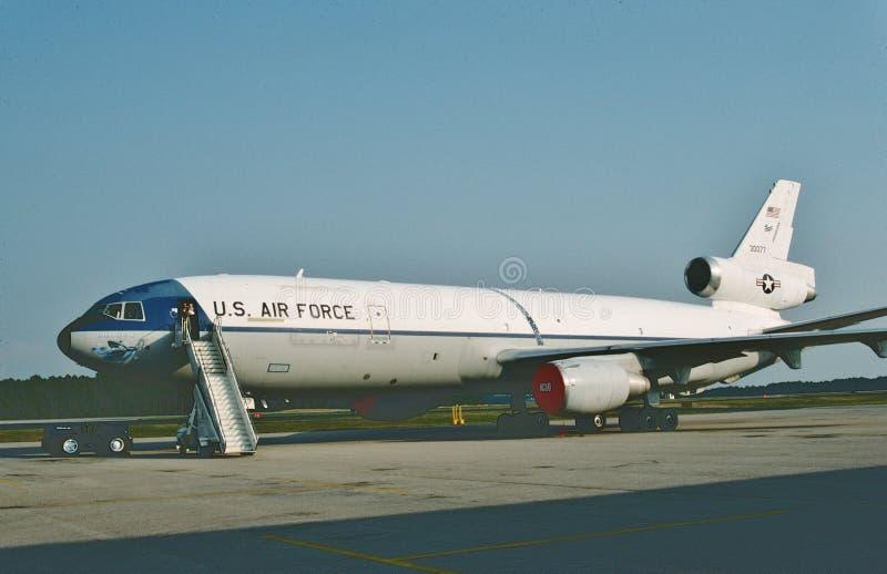 U.S.A.F. McDonnell Douglas KC-10A 83-0077 1991 arkivbilder