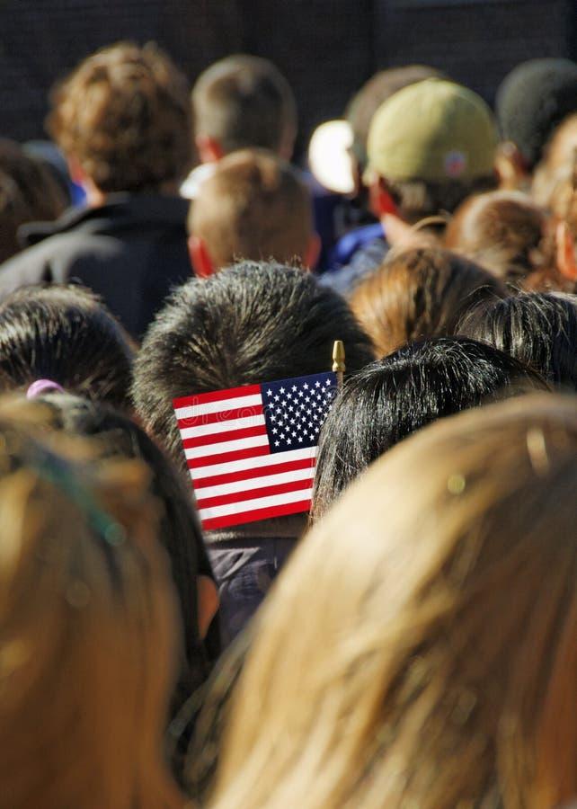 U.S.A. Flag royalty free stock photos