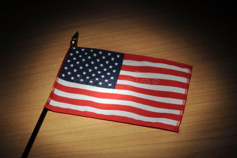 U.S.A. flagga arkivfoto