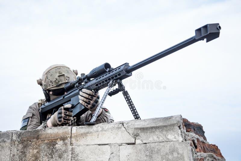 U S Francotirador del ejército imagenes de archivo