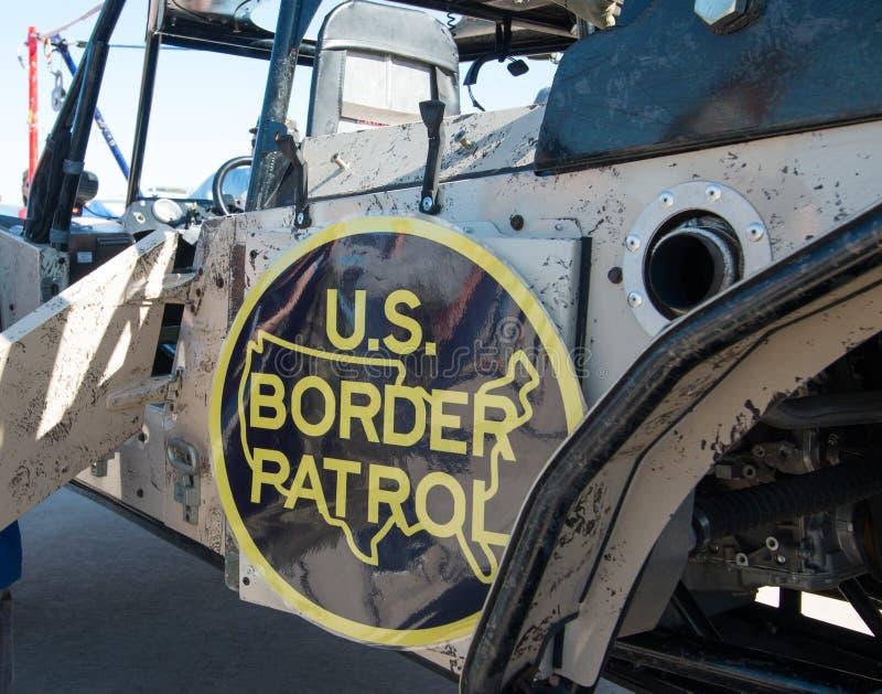 U S Grenzschutz-Fahrzeug stockbilder