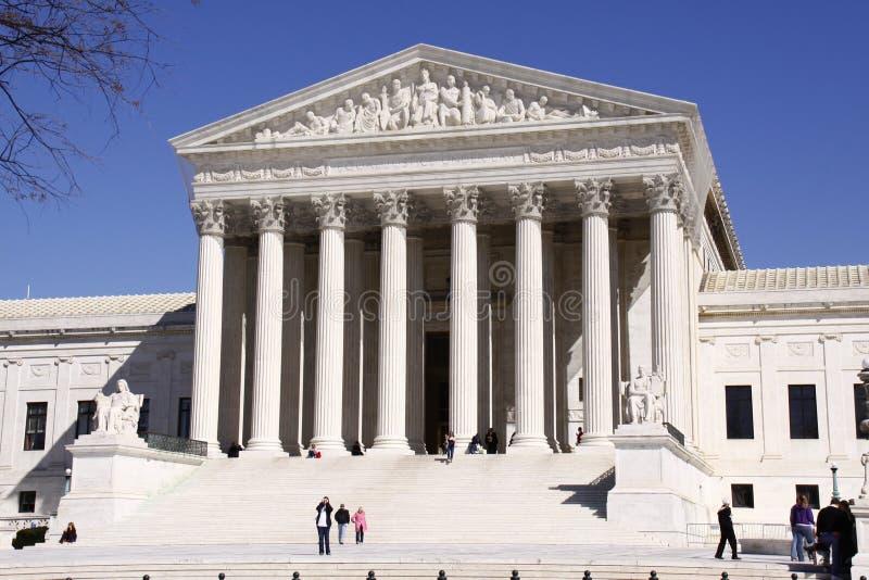 U.S. Högsta domstolen royaltyfri fotografi