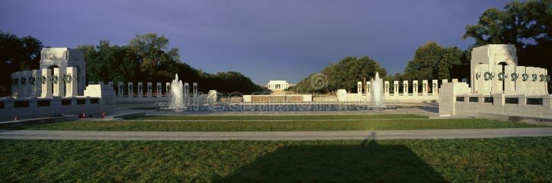U.S. Het Gedenkteken van de Wereldoorlog II stock foto's