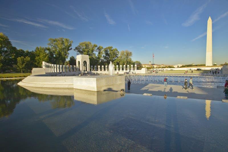 U.S. Het Gedenkteken van de Wereldoorlog II royalty-vrije stock foto's