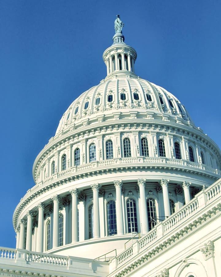 U.S. Kapitol-Gebäude stockfoto