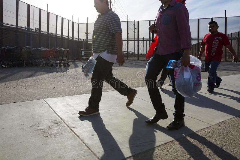 U.S.A. - L'Arizona - San Luis Border immagine stock libera da diritti