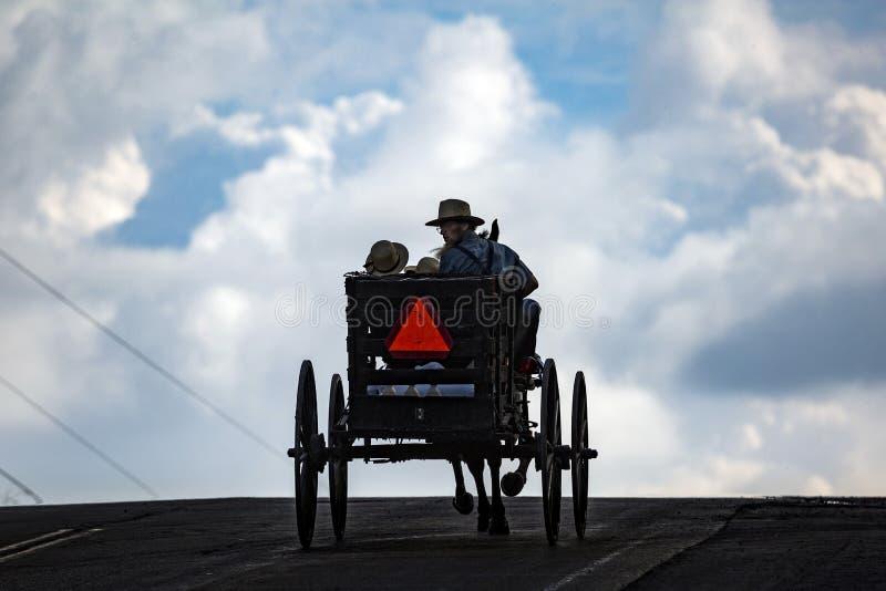 U.S.A. - L'Ohio - Amish fotografia stock