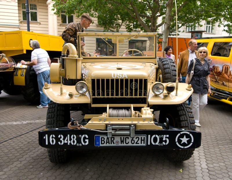U.S. light military trucks Dodge WC-51 royalty free stock photography