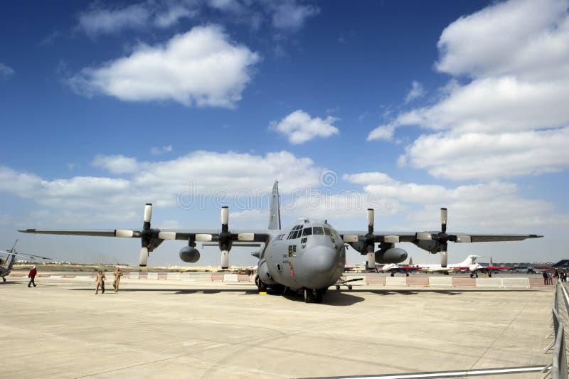 U.S. LUFTWAFFEN-BOEING C-17 lizenzfreie stockbilder