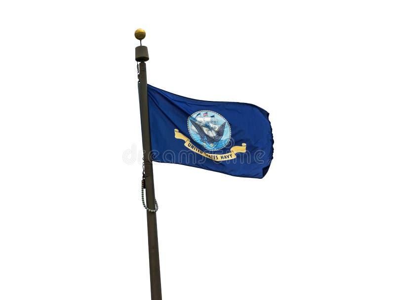 U S Marynarki wojennej flaga zdjęcie royalty free