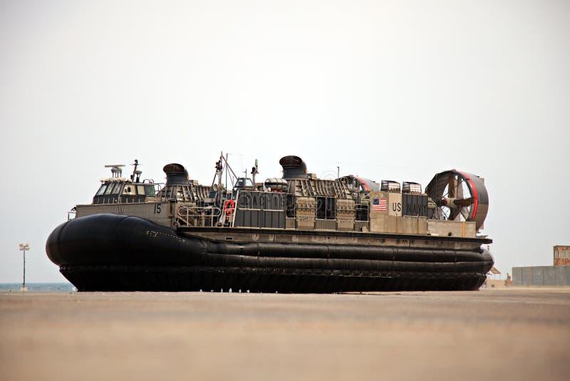 U.S. Navy LCAC royalty free stock image