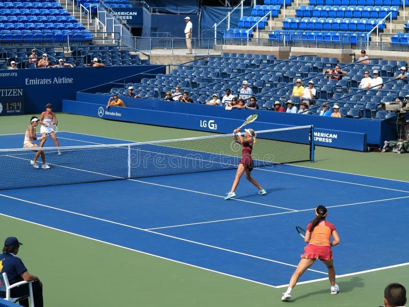 U S Open Tennis - Louis Armstrong Stadium stock foto's