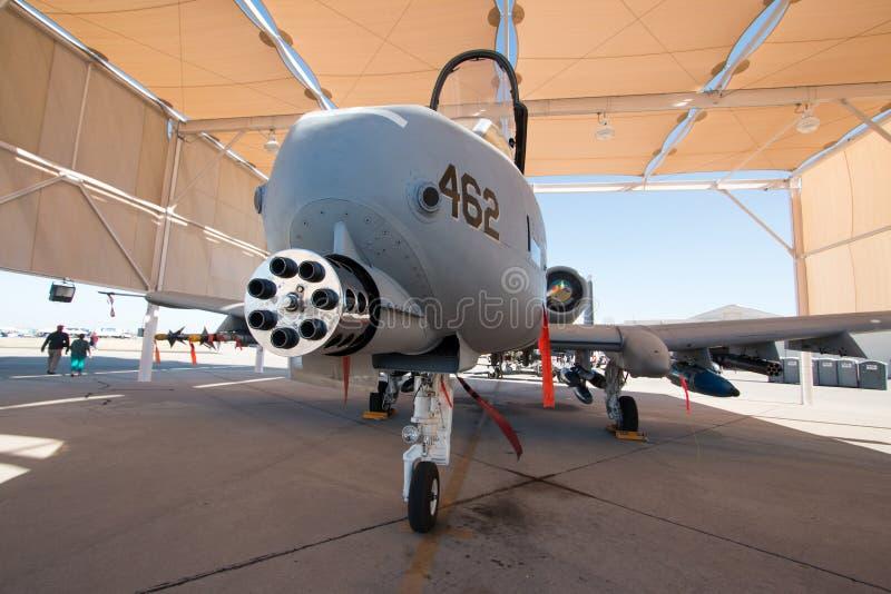 U S Phacochère de l'Armée de l'Air A-10 images stock