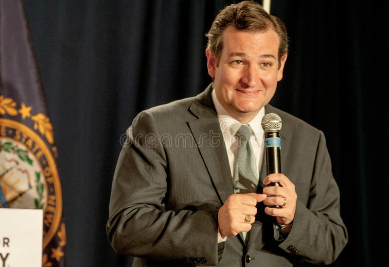 U.S. Senator Ted Cruz, R-Texas stock images