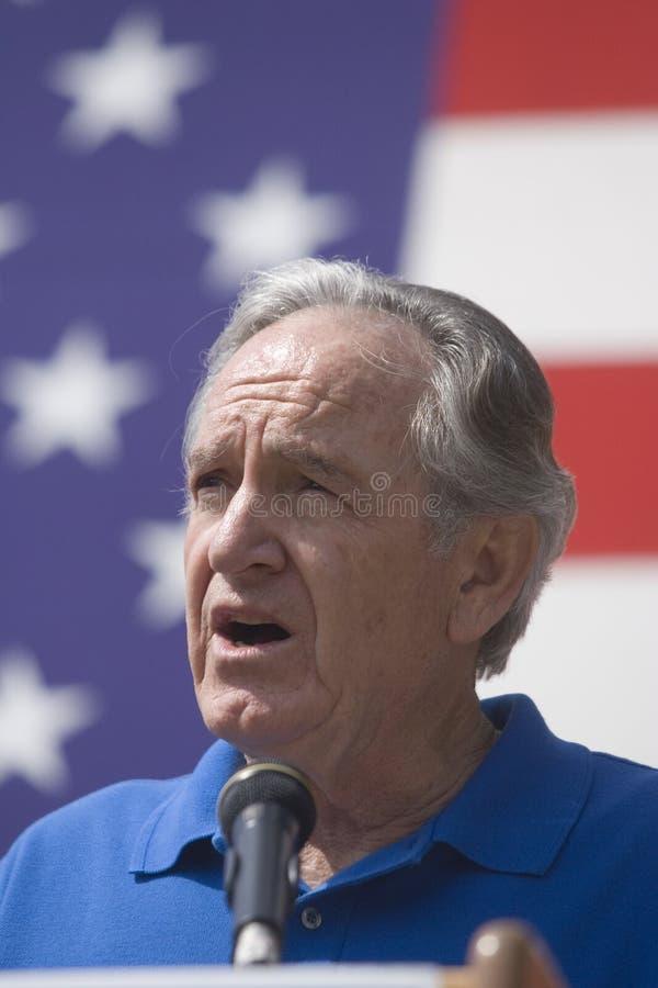U.S. Senator Tom Harkin de Iowa fotografia de stock