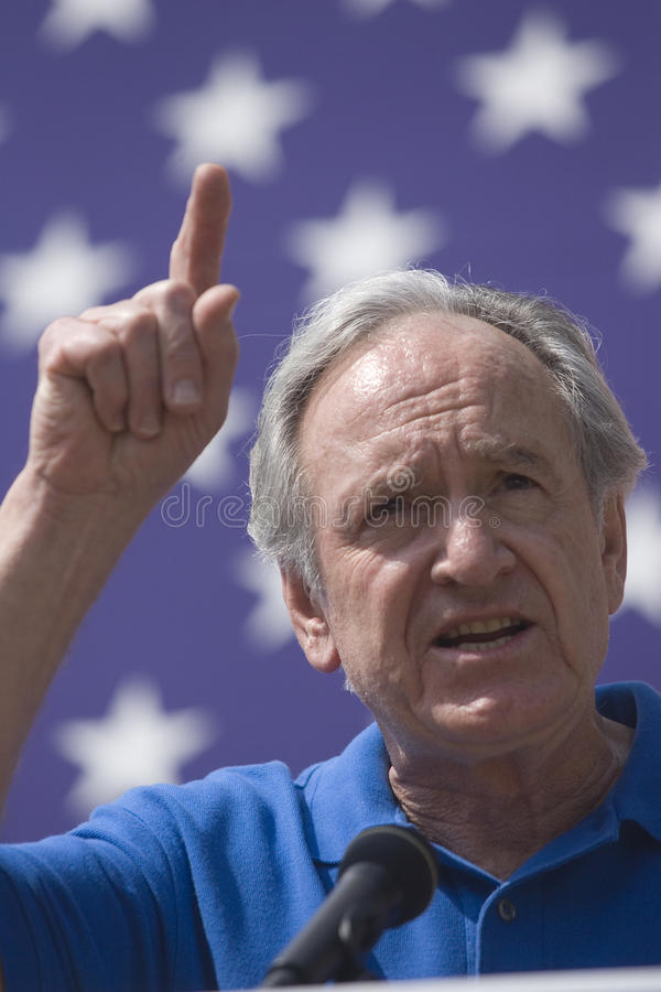 U.S. Senator Tom Harkin de Iowa foto de stock royalty free
