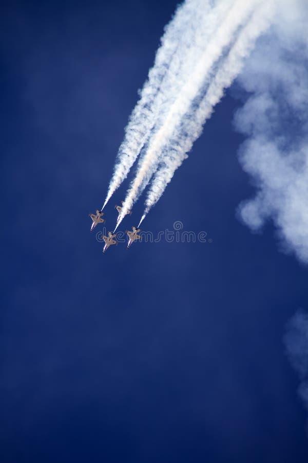 U.S. Siły Powietrzne thunderbirdy zdjęcia royalty free